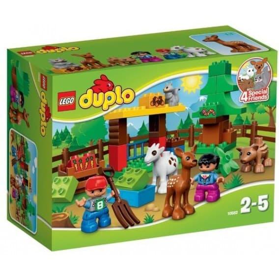 Конструктор Lego Дупло Лесные животные