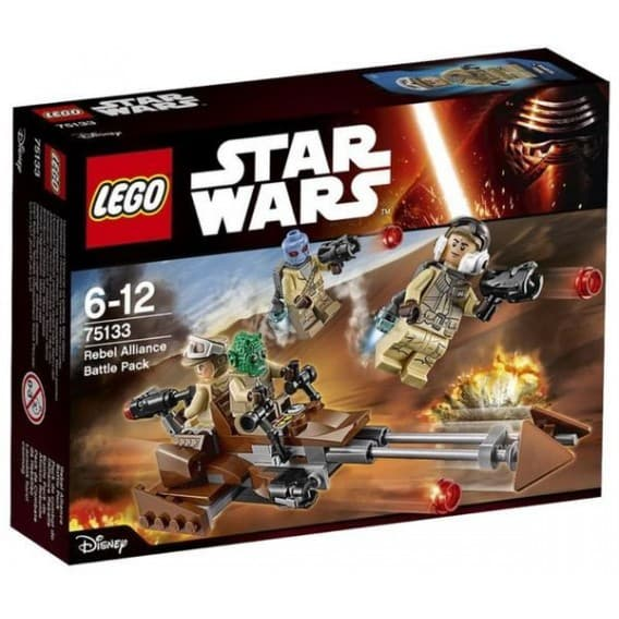 Конструктор Lego Звездные войны Боевой набор Повстанцев
