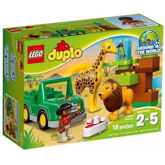 Конструктор Lego Дупло Вокруг света Африка
