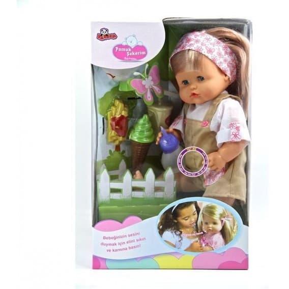Кукла в комбинезоне 40 см