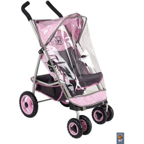 Кукольня коляска Coloma Urban Pink