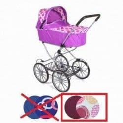 коляска для кукол с большими колесами