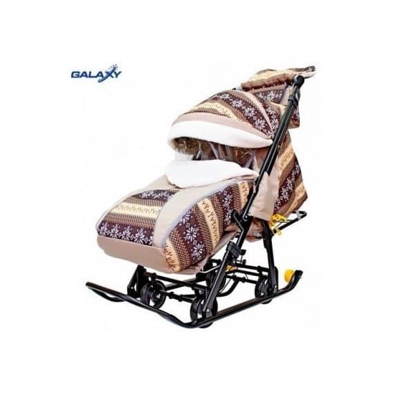 Санки-коляска Snow Galaxy Luxe