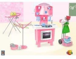 Комплект кухня, гладильная доска,сушка Coloma