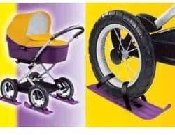 Лыжи для детской коляски 39 см.