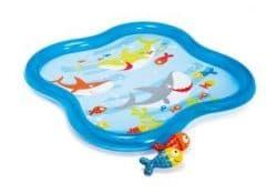 Надувной бассейн с фонтанчиком Intex 140х140х11 см