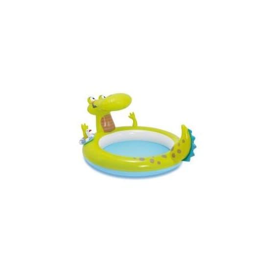 Надувной бассейн Кроко Intex 198х160х91 см