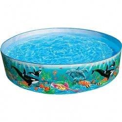 Каркасный бассейн Разноцветный риф Intex 183х38 см