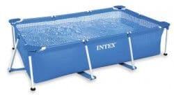 Каркасный бассейн Rectangular Frame Pool Intex 300х200х75 см