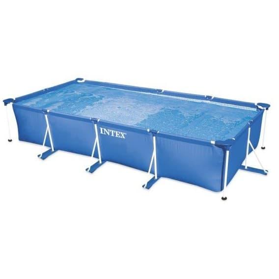 Каркасный бассейн Rectangular Frame Pool Intex 450х220х85 см
