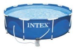 Каркасный бассейн Metal Frame Pool Intex 305 х 76 см