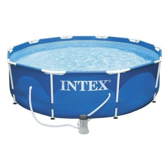 Каркасный бассейн Metal Frame Pool Intex 305 х 76 см