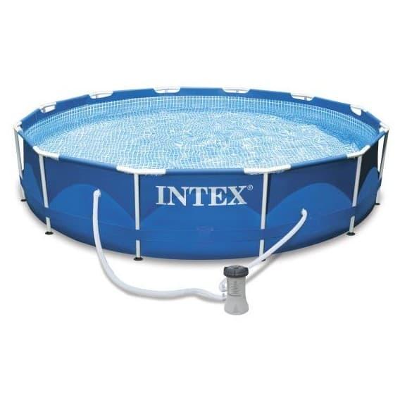 Каркасный бассейн Metal Frame Pool Intex 366 х 76 см