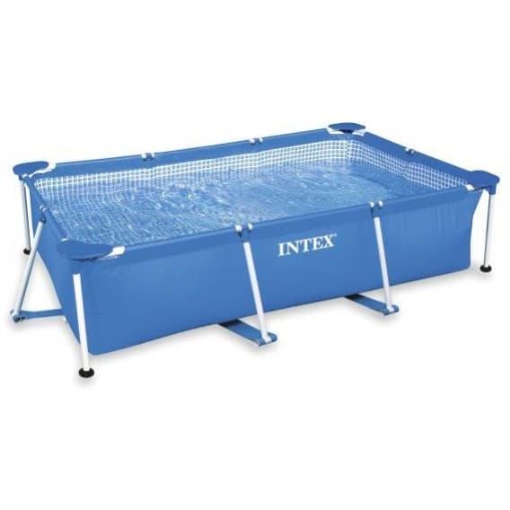 Каркасный бассейн Rectangular Frame Pool Intex 260х160х65 см