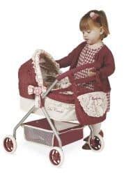 Коляска для кукол Мартина с сумкой 56 см