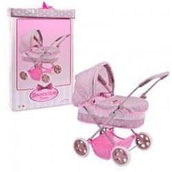 Классическая коляска для кукол Bambolina Boutique