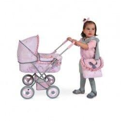 Коляска для куклы Мария 65 см