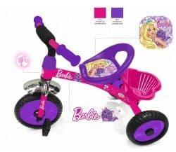 Детский трехколесный велосипед Barbie новинка 2018 года