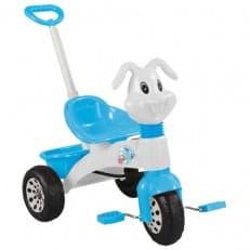 Трехколесный велосипед Pilsan Bunny с ручкой