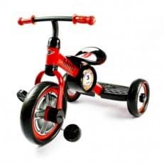 Детский красный трехколесный велосипед Rastar Mini Cooper