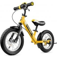 Алюминиевый беговел с ревом мотора и светодиодами Small Rider Roadster 2 AIR PLUS