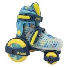 Роликовые коньки-квады Moby kids синие 30-33
