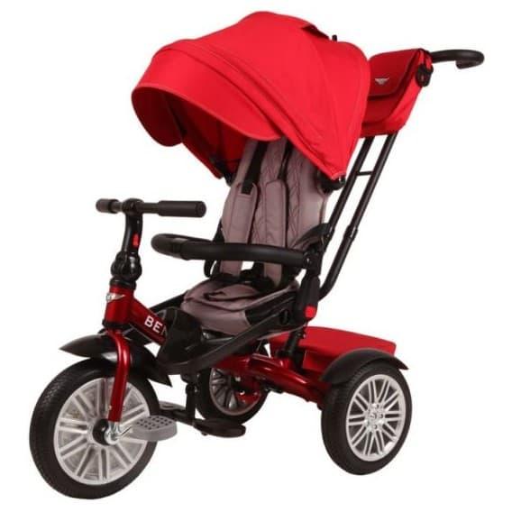 Трехколесный велосипед Bentley красный