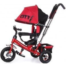 Детский велосипед City красный