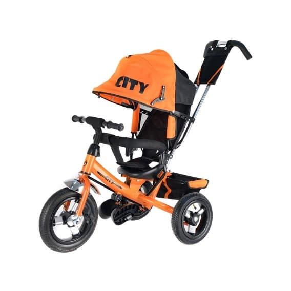 Детский велосипед City оранжевый
