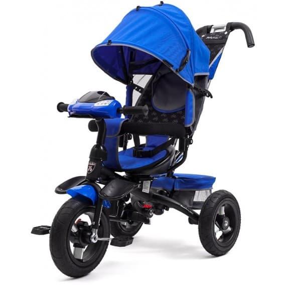 Велосипед Moby Kids Comfort AIR Car 360 синий new 2018