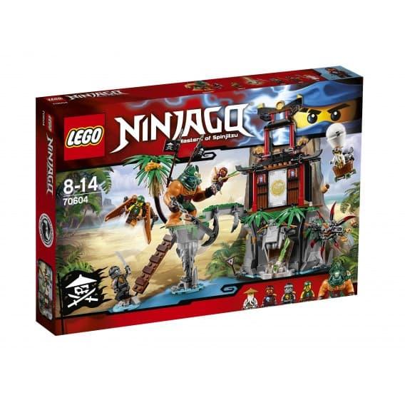 Конструктор LEGO Ninjago Остров тигриных вдов