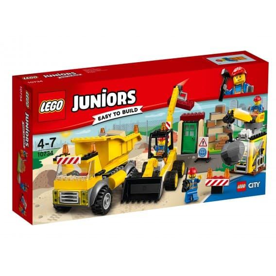 Конструктор LEGO Juniors Стройплощадка