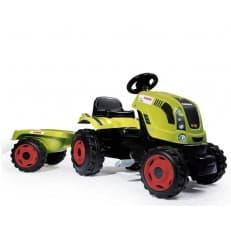 Трактор педальный Smoby XL CLAAS с прицепом