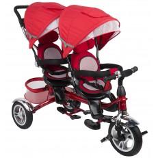 Детский трехколесный велосипед Twin Trike 360