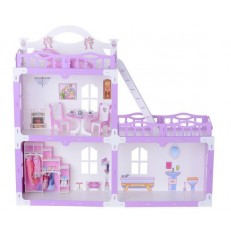 Домик для кукол Анна с мебелью 91 см