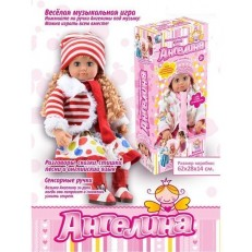 Интерактивная кукла Ангелина MY052