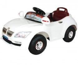 Электромобиль с резиновыми колесами