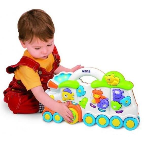 Детский музыкальный паровозик Weina