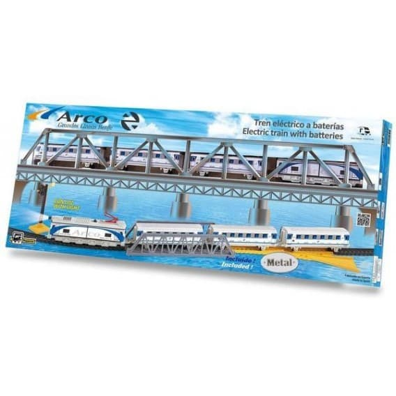 """Железная дорога """"Арко"""" с мостом и светом"""