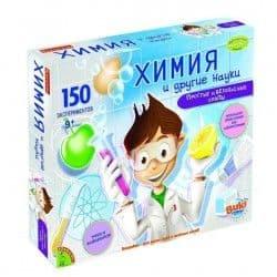 Обучающие опыты Химия и другие науки, Bondibon 150 экспериментов
