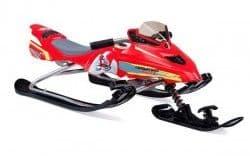 Снегокат Snowstorm Moto красный