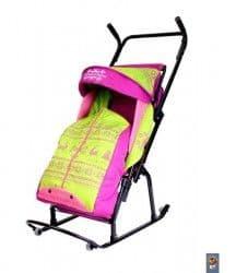 Детские санки на колесиках