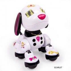 Интерактивный щенок-робот Zoomer Zuppies Scarlet, Roxy, Candy и Spot