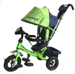 Велосипед - коляска с фарой Trike Travel зеленый