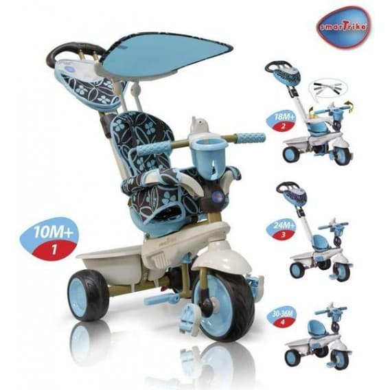 3 х колесный велосипед Smart Trike 8000900 Dream Touch Steering