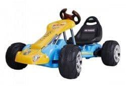 Электрокарт RiverToys Kart 6628 с надувными колесами