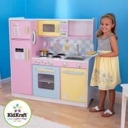 Игрушечная кухня KidKraft Пастель