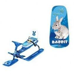 Снегокат со спинкой Тимка спорт 4-1 «Rabbit»