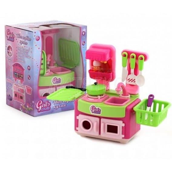 Интерактивная кухня Girl's club для девочек