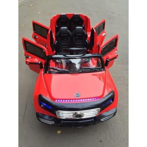 Четырехдверный электромобиль RiverToys Mers Лимузин A555AA